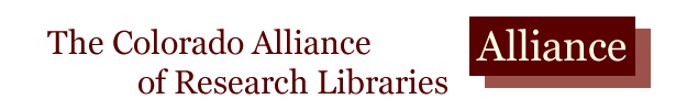 Colorado Alliance of Research Libraries