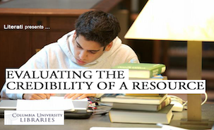 Evaluating the Credibility of a Resource