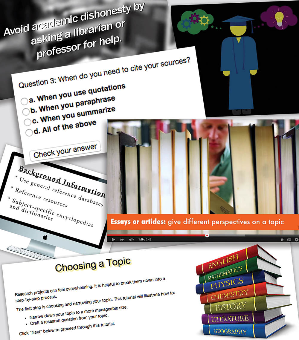 Information Literacy Course Module image